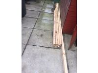 Plained Timber 4''x 2''