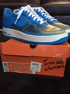 "Men's Nike Air Force 1 ""Invisible Woman"" Shoes"
