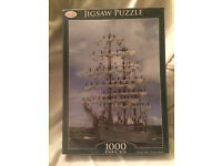1000 piece boat jigsaw puzzle