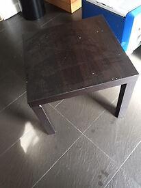 Black/brown Ikea Coffee Table