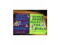 2 Horrid Henry books