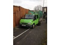 Ford Transit ( ex Council ) crew cab tipper