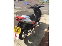 Scooter for sale good condition low milage sale due to test passed and car bought