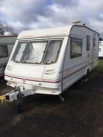 Brilliant Starter Caravan - Sterling Hallmark 500 - Absolute Bargain!