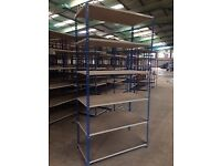 Used Boltless Shelving - 5 Tier - Great for Warehouse and Garage Storage