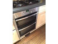 Neff under counter integrated double oven