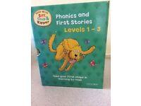 Childrens Reading Books - Oxford Scheme, Read with Biff, Chip & Kipper Levels 1-3 (25 books)