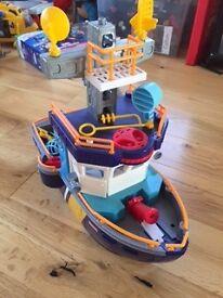Fisher Price Imaginext Ocean Boat