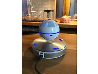 ICE ORB Floating Bluetooth Speaker - White/Blue, Great Condition