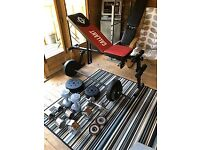 Gym Equipment & Weights For Sale Job lot
