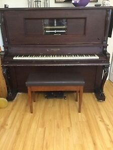 Upright Player Piano For FREE