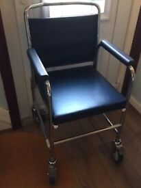 Disability chair with wheels