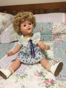 "RARE Original 1930's Ideal 18"" Composition Shirley Temple Doll Dover Gardens Marion Area Preview"