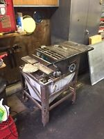 8 Inch Table Saw & Jointer