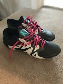 Mens Adidas X15.1 Football boots. RRP £150! Worn once. Size 7