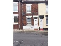 **LET AGREED**2 BEDROOM TERRACE-LOWTHER STREET-STOKE-ON-TRENT-LOW RENT-DSS ACCEPTED-NO DEPOSIT