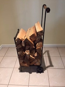 Log Holder c/w Wheels