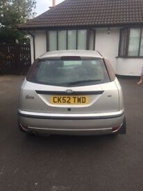 ford focus - brand new MOT