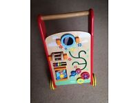 TIDLO wooden activity baby walker