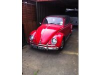 Vw beetle been converted to soft top good condition for age with mot pay part exchange