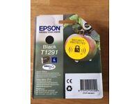 Epson black ink T1291 'Apple'