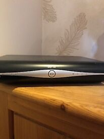 Sky HD box with 2 remote controls, used