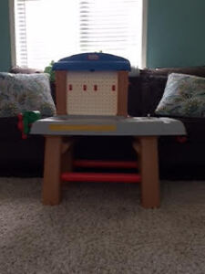 Little Tikes Kids Play Workbench