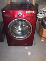 Fromm LG Candy Apple Red Steam Washer - $150-