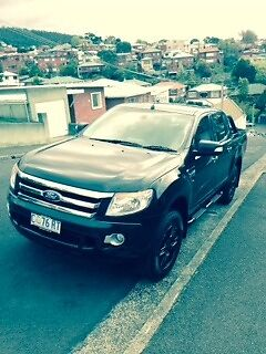 2012 Ford Ranger,Black,IMMACULATE condition and low KMS MUST SELL West Hobart Hobart City Preview