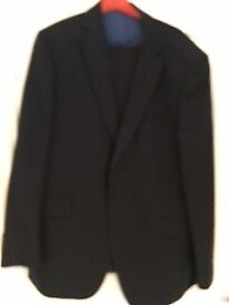 Marks and Spencers man's suit (dark blue) size 42 jacket and 34 waist