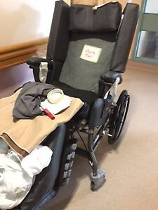 BRODA WHEELCHAIR 85 V-550, 2 mths old,$4,000 new, asking $500.00