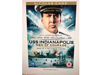 Brand new sealed unopened Uss Indianapolis: Men Of Courage DVD