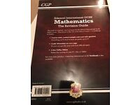 INTERNATIONAL GCSE CGP MATHS REVISION GUIDE AND WORKBOOK - BRAND NEW NEVER BEEN USED