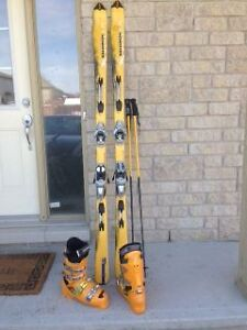 Salomon Skis, Boots and Poles