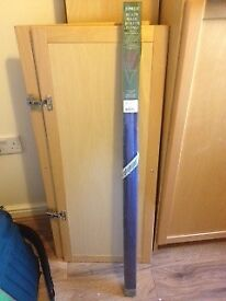 Roller blind - blue , unused and still sealed in the box. Original price £25