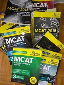 MCAT Princeton Review Full Set 2016