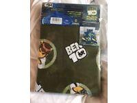 Ben Ten single duvet cover and pillow case new in packaging