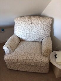 Large comfy arm chair
