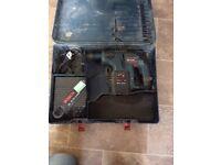 BOSH SDS hammer 24 volt drill