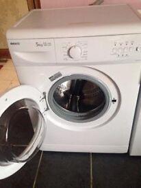 beko 5kg 1000 spin washing machine