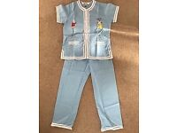 Chinese style cotton kids pyjamas
