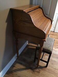 Antique French Roll Top Desk