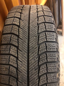 4 Michelin X-ICE winter tires 185/60R/15