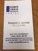 LEGAL ASSISTANT - Real Estate - LONDON, ONTARIO