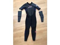 Never worn Gents O'neill Wetsuit Size L With Detachable Sleeves
