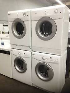 "24"" White Apartment Size Stackable Dryer"