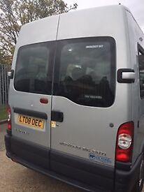 Vauxhall Movano 16 seater Minibus - Silver