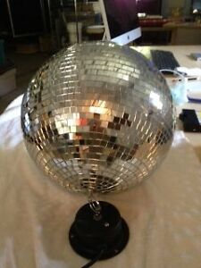 "12"" Disco Ball with motor Windsor Region Ontario image 2"