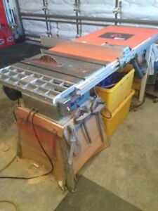 """10"""" KING table saw with router table"""