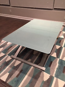 Calligaris extendable coffee table